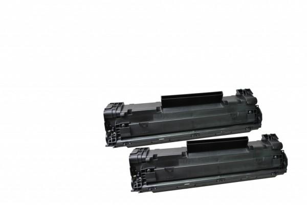 MSE Premium Toner für HP LaserJet P1102 (85A) Twin Pack - kompatibel mit CE285AD