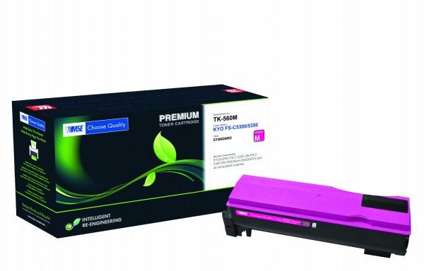 MSE Premium Farb-Toner für Kyocera FS-C5300/5350 Magenta - kompatibel mit TK-560M