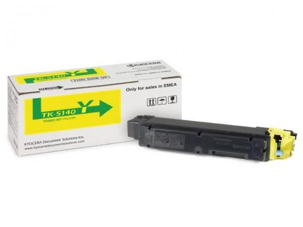 Original Toner Kyocera 1T02NRANL0 / TK-5140Y
