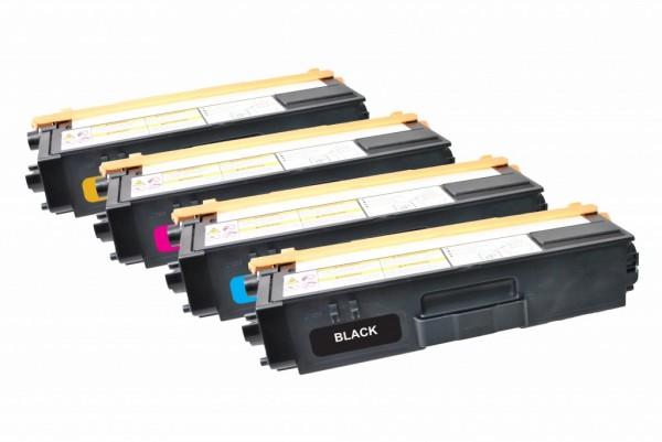 MSE Premium Farb-Toner für Brother HL-4140/4150/4570 CMYK Multipack - kompatibel mit TN325BK/C/M/Y