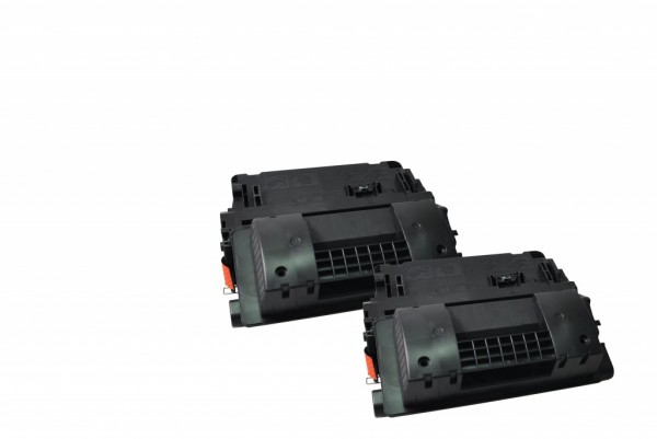 MSE Premium Toner für HP LaserJet M4555 (90X) High Yield Twin Pack - kompatibel mit CE390XD