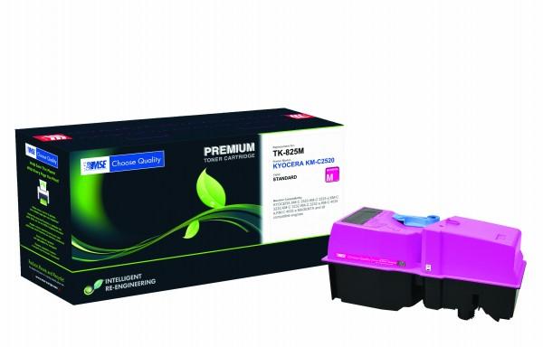 MSE Premium Farb-Toner für Kyocera KM-C2520 Magenta - kompatibel mit TK-825M