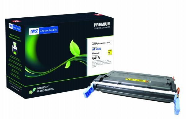 MSE Premium Farb-Toner für HP Color LaserJet 4600 (641A) Yellow - kompatibel mit C9722A