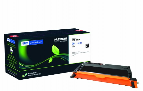 MSE Premium Farb-Toner für Dell 3110CN Black High Yield - kompatibel mit 593-10170