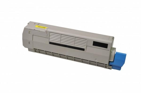 MSE Premium Farb-Toner für Oki C612 Yellow - kompatibel mit 46507505