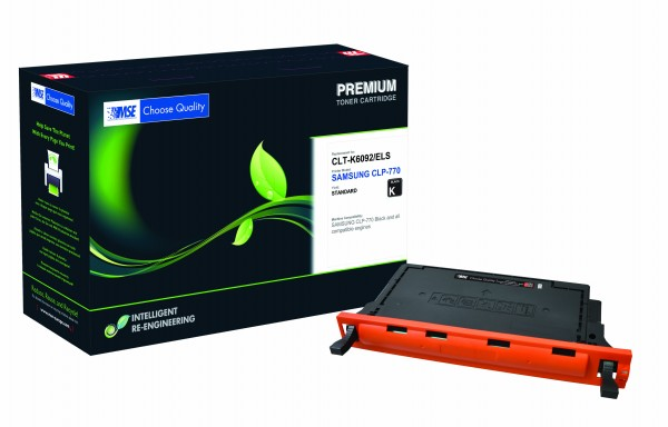 MSE Premium Farb-Toner für Samsung CLP-770 Black - kompatibel mit CLT-K6092S/ELS