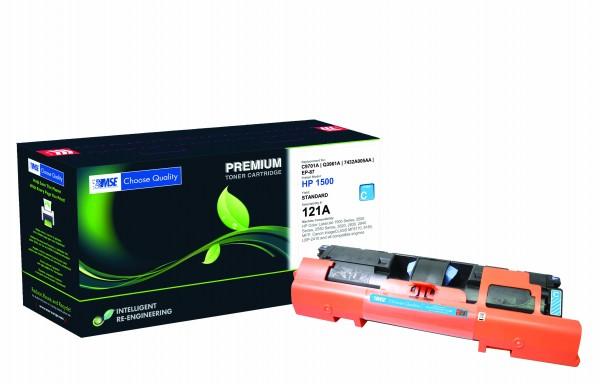 MSE Premium Farb-Toner für HP Color LaserJet 1500/2500/2550/2800 Cyan High Yield - kompatibel mit C9