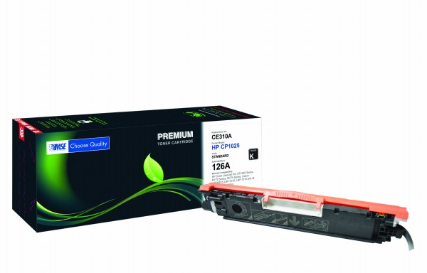 MSE Premium Farb-Toner für HP Color LaserJet CP1025 (126A) Black - kompatibel mit CE310A