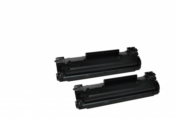 MSE Premium Toner für HP LaserJet M125/M127 (83A) Twin Pack - kompatibel mit CF283AD