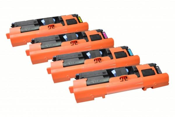 MSE Premium Farb-Toner für HP Color LaserJet 2550/2800 CMYK Multipack - kompatibel mit Q3960A/61A/62