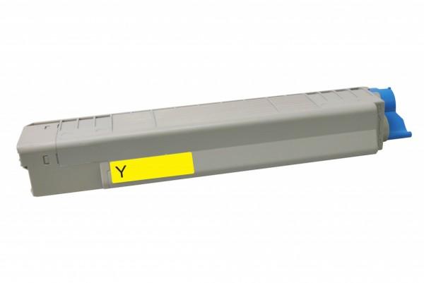 MSE Premium Farb-Toner für Oki C801/C821 Yellow - kompatibel mit 44643001