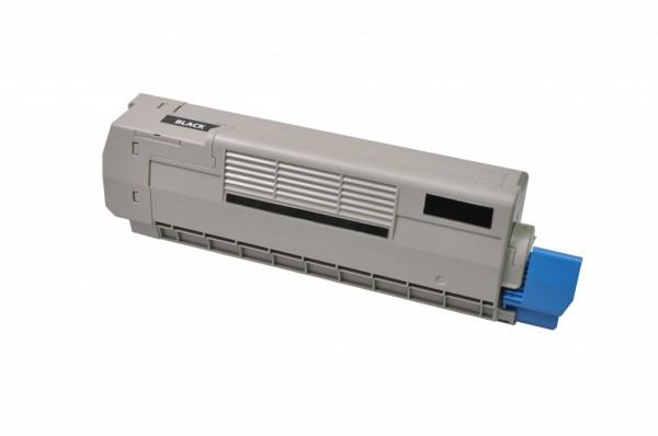 MSE Premium Farb-Toner für Oki C612 Black - kompatibel mit 46507508