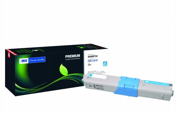 MSE Premium Farb-Toner für Oki C510 Cyan High Yield - kompatibel mit 44469724