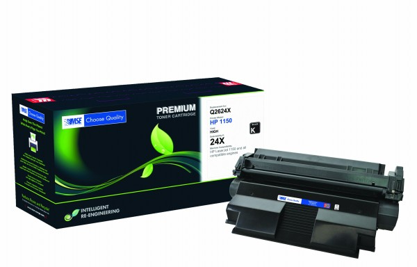 MSE Premium Toner für HP LaserJet 1150 (24X) High Yield - kompatibel mit Q2624X