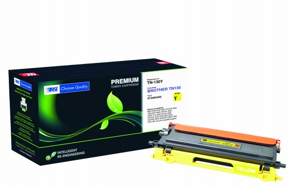 MSE Premium Farb-Toner für Brother HL-4040/4050/4070 Yellow - kompatibel mit TN130Y