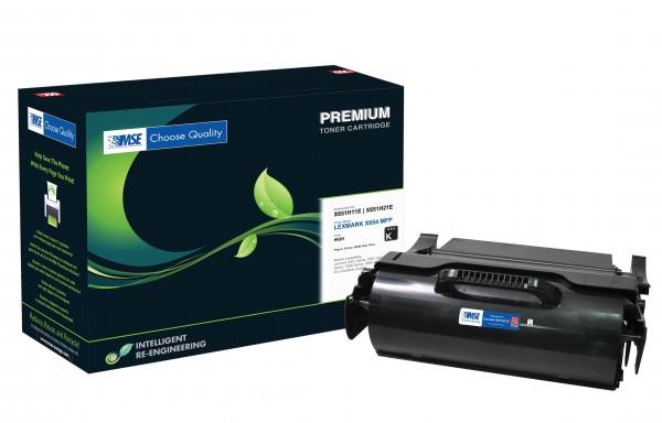 MSE Premium Toner für Lexmark X651 High Yield - kompatibel mit X651H21E