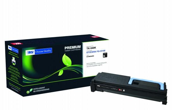 MSE Premium Farb-Toner für Kyocera FS-C5100 Black - kompatibel mit TK-540K