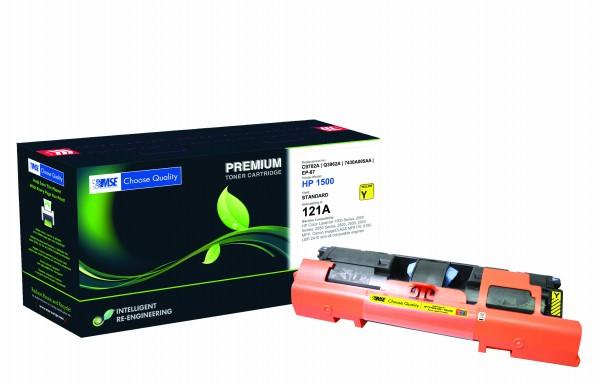 MSE Premium Farb-Toner für HP Color LaserJet 1500/2500/2550/2800 Yellow High Yield - kompatibel mit