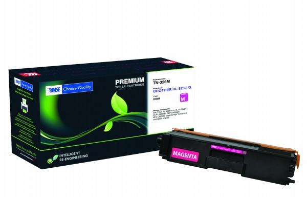 MSE Premium Farb-Toner für Brother HL-L8250/L8350 Magenta - kompatibel mit TN326M