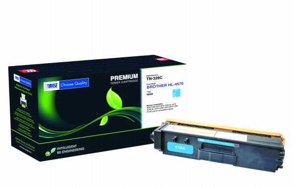 MSE Premium Farb-Toner für Brother HL-4570 Cyan - kompatibel mit TN328C