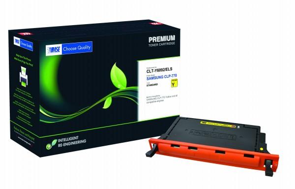 MSE Premium Farb-Toner für Samsung CLP-770 Yellow - kompatibel mit CLT-Y6092S/ELS