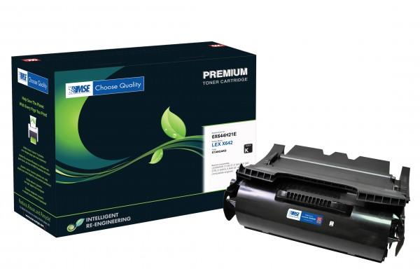 MSE Premium Toner für Lexmark X642 High Yield - kompatibel mit X644H21E