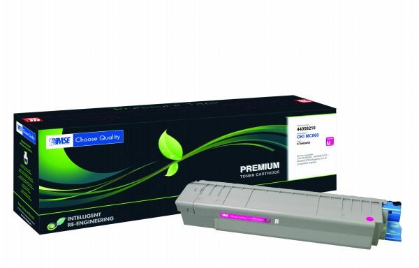 MSE Premium Farb-Toner für Oki MC860 Magenta - kompatibel mit 44059210