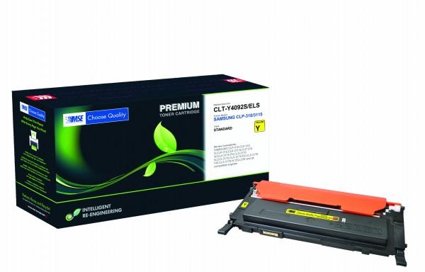 MSE Premium Farb-Toner für Samsung CLP-310/315 Yellow - kompatibel mit CLT-Y4092S/ELS