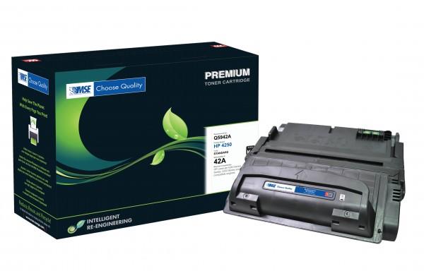 MSE Premium Toner für HP LaserJet 4250/4350 (42A) - kompatibel mit Q5942A