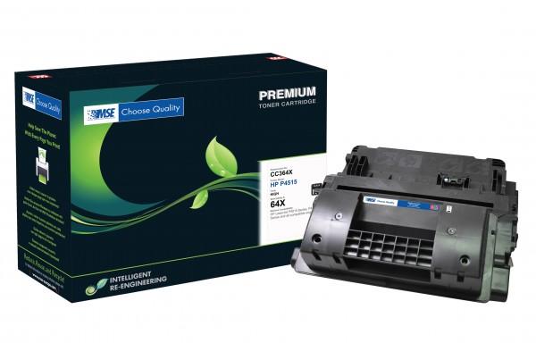 MSE Premium Toner für HP LaserJet P4015/P4515 (64X) High Yield - kompatibel mit CC364X