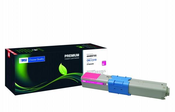 MSE Premium Farb-Toner für Oki C310 Magenta - kompatibel mit 44469705