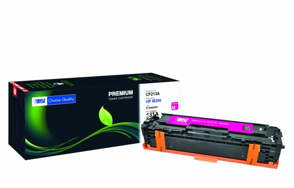 MSE Premium Farb-Toner für HP Color LaserJet M251 (131A) Magenta - kompatibel mit CF213A