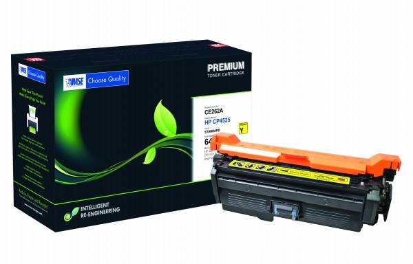 MSE Premium Farb-Toner für HP Color LaserJet CP4025 (648A) Yellow - kompatibel mit CE262A