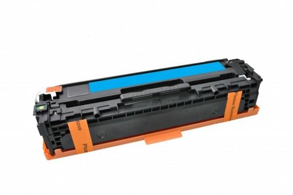 MSE Premium Farb-Toner für HP Color LaserJet CP1525 (128A) Cyan - kompatibel mit CE321A