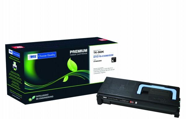MSE Premium Farb-Toner für Kyocera FS-C5300/5350 Black - kompatibel mit TK-560K