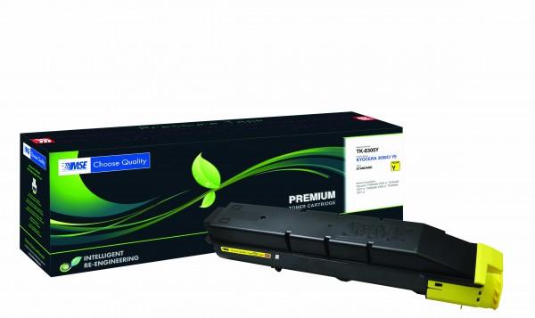 MSE Premium Farb-Toner für Kyocera TASKalfa 3050/3051/3550/3551 Yellow - kompatibel mit TK-8305Y