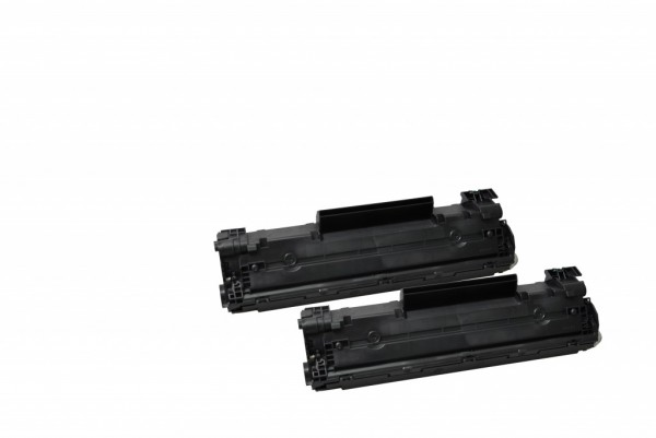 MSE Premium Toner für HP LaserJet P1606 (78A) Twin Pack - kompatibel mit CE278AD