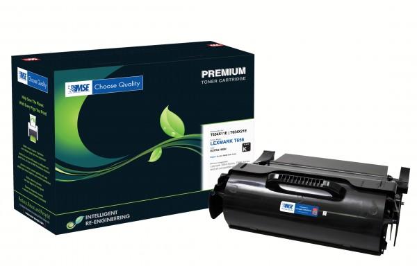 MSE Premium Toner für Lexmark T654 Extra High Yield - kompatibel mit T654X21E