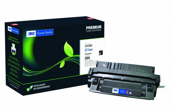 MSE Premium Toner für HP LaserJet 5000 (29X) High Yield - kompatibel mit C4129X