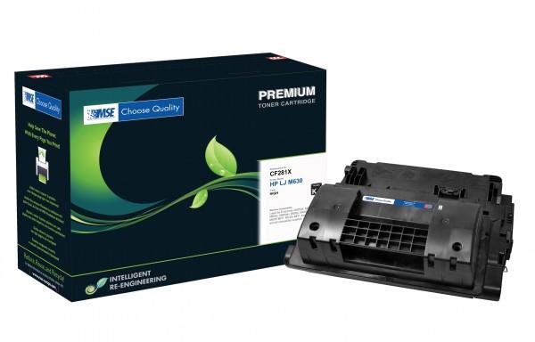 MSE Premium Toner für HP LaserJet M630 (81X) High Yield - kompatibel mit CF281X