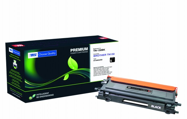 MSE Premium Farb-Toner für Brother HL-4040/4050/4070 Black - kompatibel mit TN130BK
