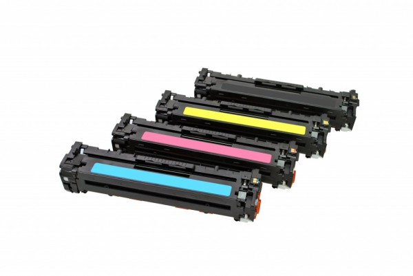 MSE Premium Farb-Toner für HP Color LaserJet M251 CMYK Multipack - kompatibel mit CF210X/11A/12A/13A