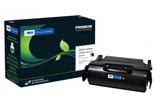 MSE Premium Toner für Lexmark X654 Extra High Yield - kompatibel mit X654X21E