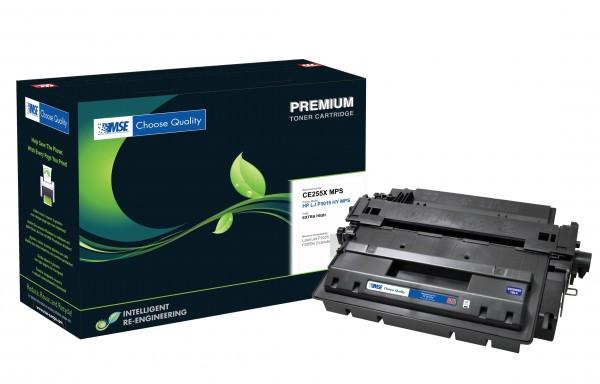 MSE Premium Toner für HP LaserJet P3015 XXL - kompatibel mit CE255X-XXL