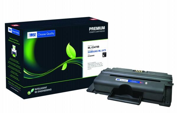 MSE Premium Toner für Samsung ML-3470 - kompatibel mit ML-D3470B/EUR