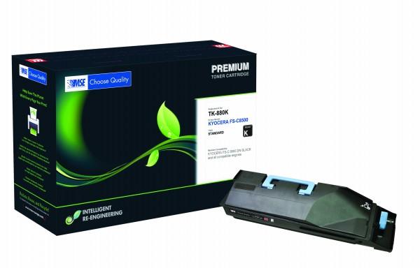 MSE Premium Farb-Toner für Kyocera FS-C8500 Black - kompatibel mit TK-880K