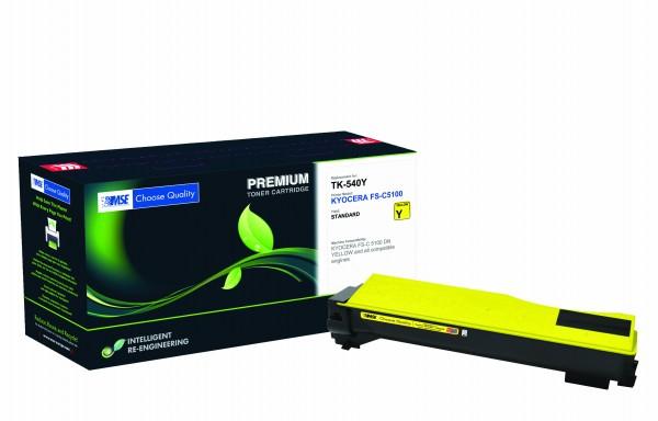 MSE Premium Farb-Toner für Kyocera FS-C5100 Yellow - kompatibel mit TK-540Y