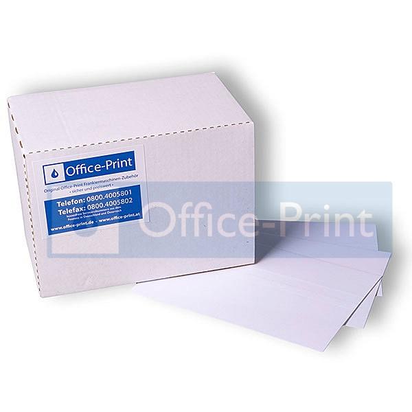 Office-Print Frankieretiketten, selbstklebend, 132 x 45 mm, 1.000 Stück
