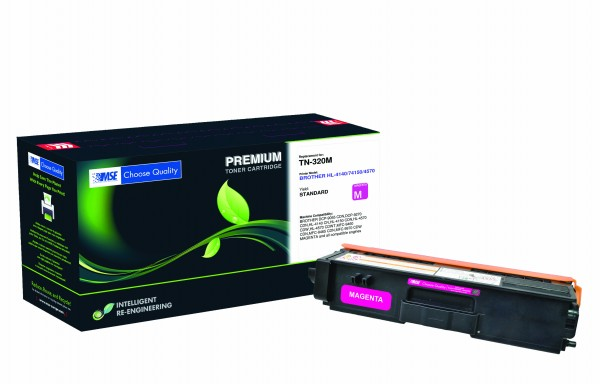 MSE Premium Farb-Toner für Brother HL-4140/4150/4570 Magenta - kompatibel mit TN320M