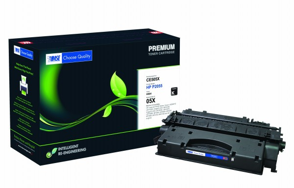 MSE Premium Toner für HP LaserJet P2055 (05X) High Yield - kompatibel mit CE505X
